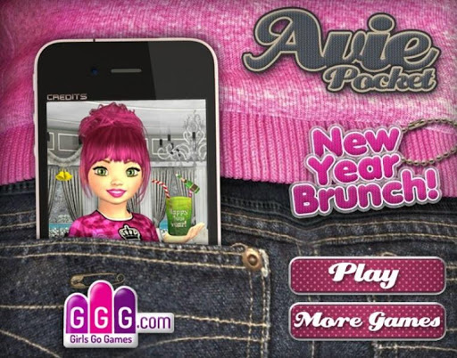 DressUp New Year Game