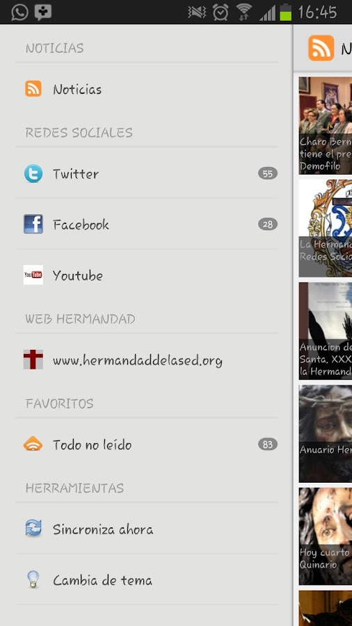 Hermandad Cristo de la Sed- screenshot