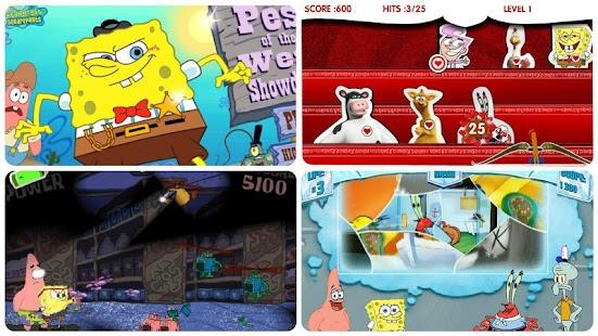 玩休閒App|海綿寶寶遊戲合輯免費|APP試玩