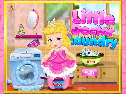 玩免費休閒APP|下載小博士洗衣服-可爱宝贝爱劳动 app不用錢|硬是要APP