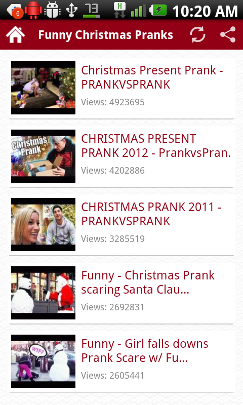Funny Christmas Pranks - screenshot