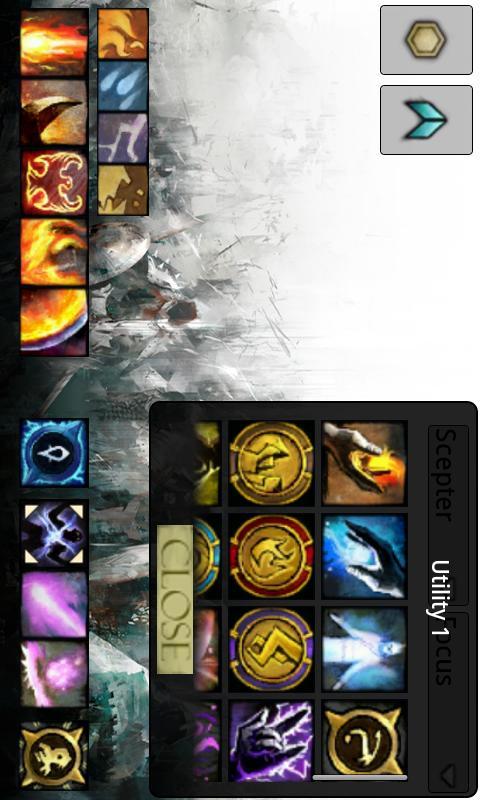 GW2 Skill Tool - screenshot
