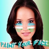 Paint your face Uzbekistan