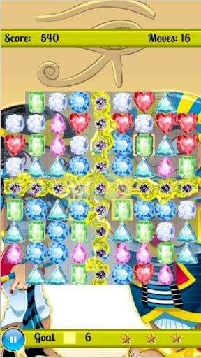 Pharaoh Diamond Curse -match 3