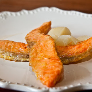 Fish Fried In Egg
