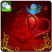 Valentine Day Wechat cards