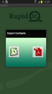 Export Import Contacts Excel- screenshot thumbnail
