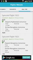 Screenshot of Flight Search