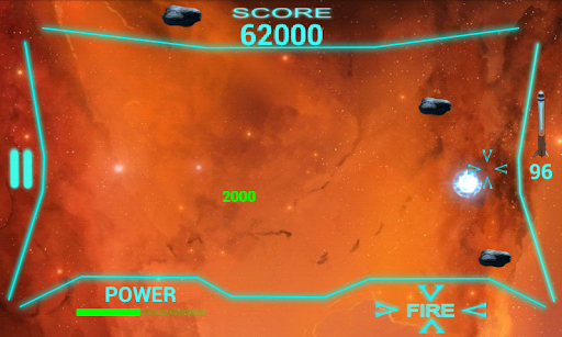 Deep Space X Shooting Game