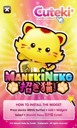 Kawaii Lucky Cat - Maneki Neko