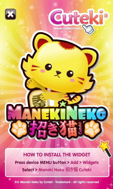 Kawaii Lucky Cat / Maneki Neko - Android Apps on Google Play