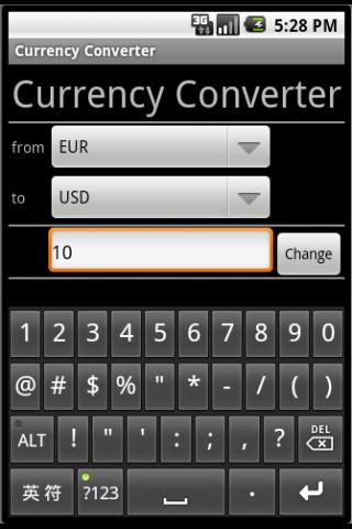Currency Converter Plus - screenshot