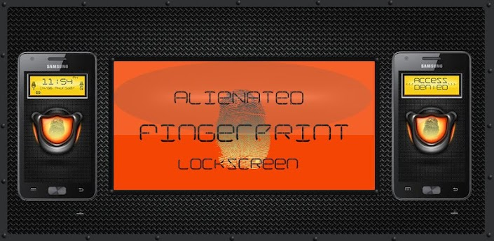 Alienated Fingerprint Scanner