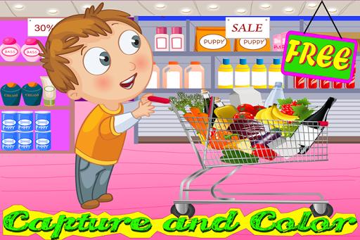 捕捉和色彩超市
