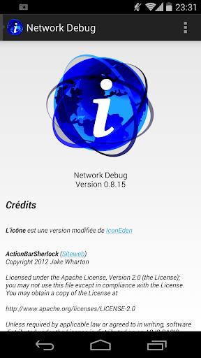 Network Debug beta