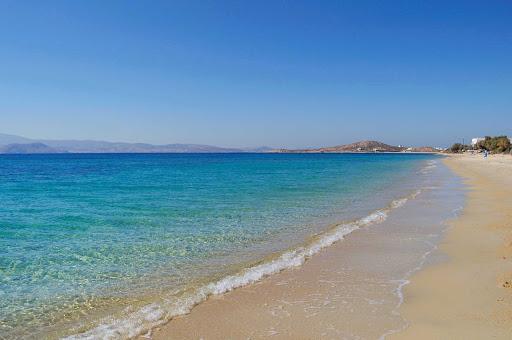 Plaka-Beach-Naxos-Greece - The beautiful Plaka Beach on Naxos, Greece.