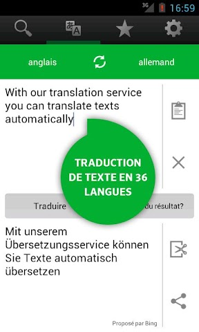 android PONS Online-Wörterbuch Screenshot 9