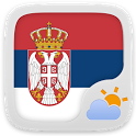 Serbian Language GO Weather EX icon