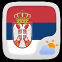 Serbian Language GO Weather EX icon