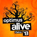 Optimus Alive 2013 logo