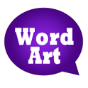 WordArt Chat Sticker Viber icon