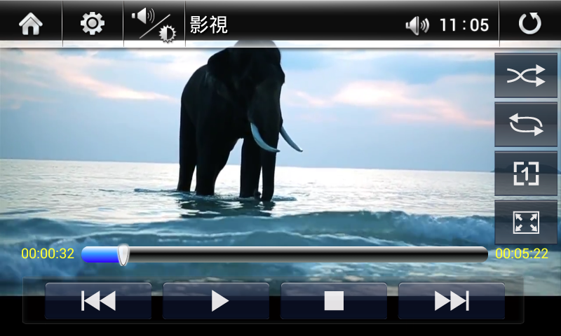Wiva Player - screenshot