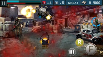 Screenshot of Gun & Blood