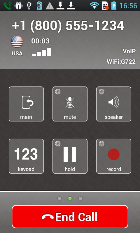 Cloud Softphone- screenshot
