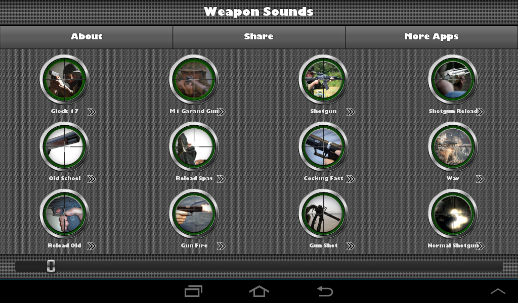 Weapon Sounds Gunshots - screenshot