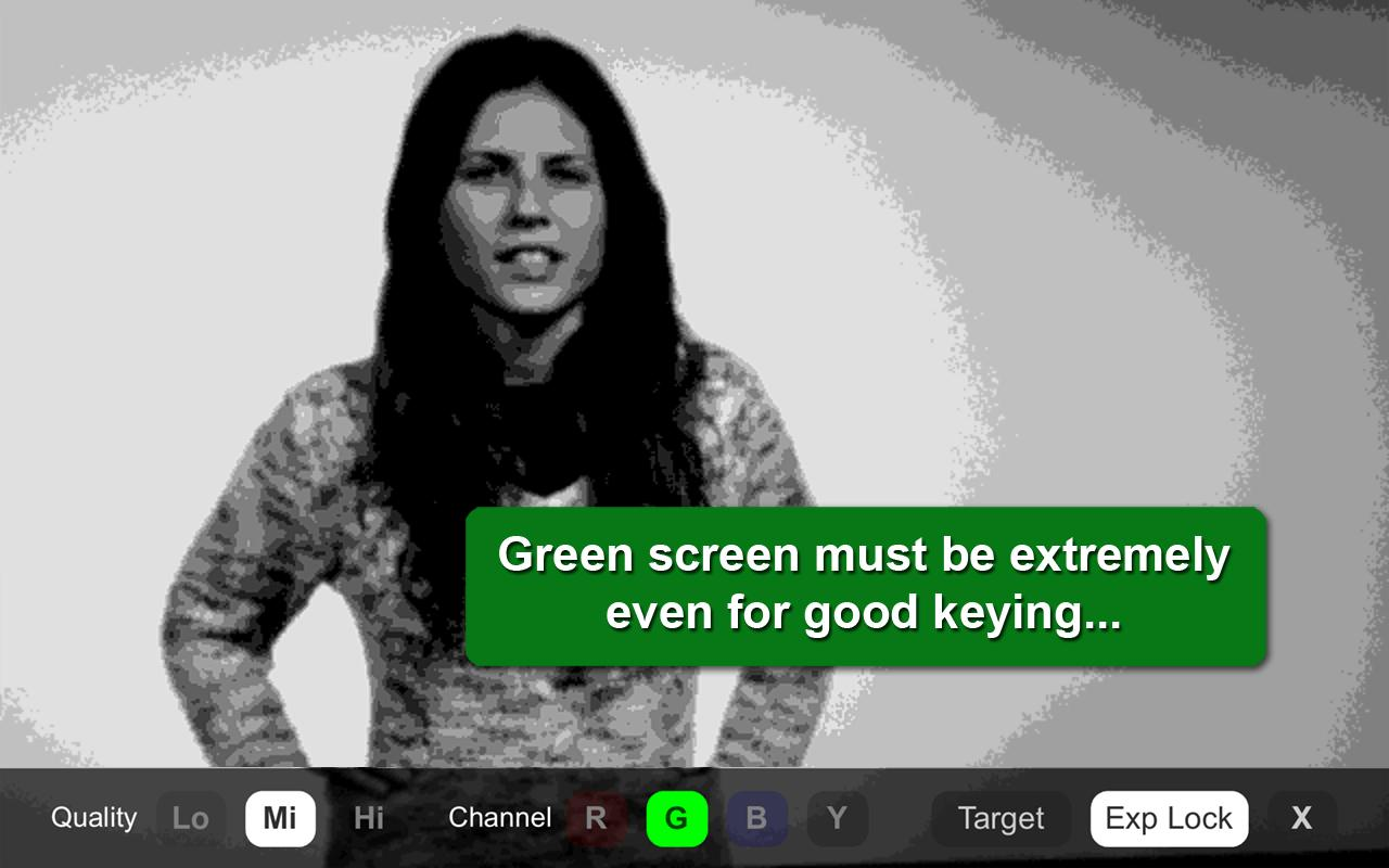 Green Screener - screenshot