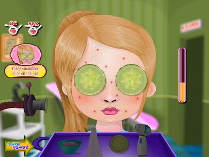 Pimple Trouble Girls Games- screenshot thumbnail