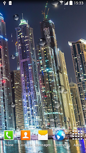 Dubai Night Live Wallpaper screenshot 5