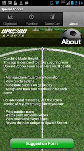 Upward Soccer Coach- screenshot thumbnail