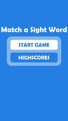 Match a Sight Word