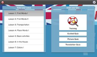 Screenshot of L-Lingo Learn English