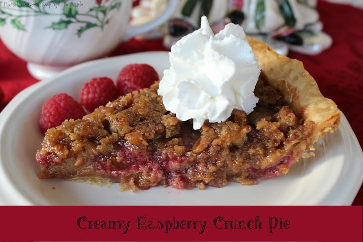 Creamy Raspberry Crunch Pie Recipe