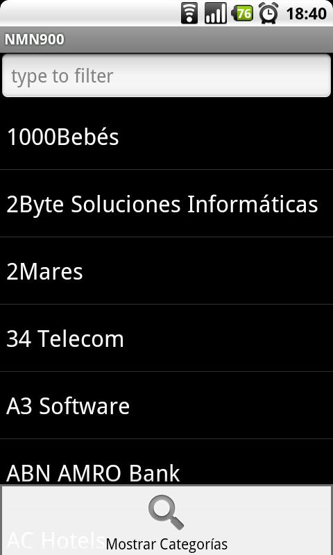 No Mas Números 900 - screenshot