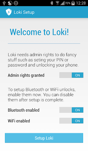 Loki Smart Unlock