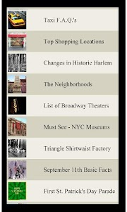 U.S. Travel List NEW YORK CITY screenshot 1