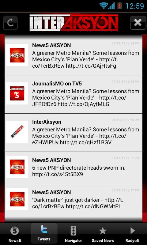 InterAksyon - screenshot