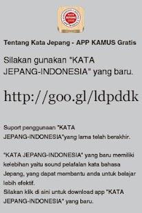 KATA JEPANG - INDONESIA - screenshot thumbnail