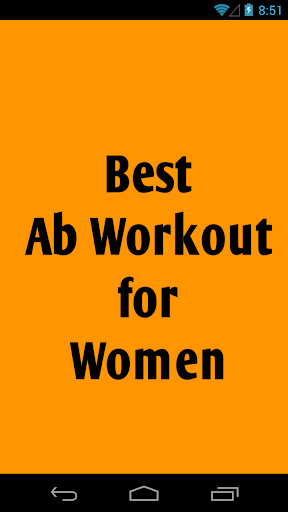 Best Ab Workout for Women