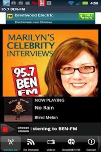 95.7 BEN-FM - screenshot thumbnail
