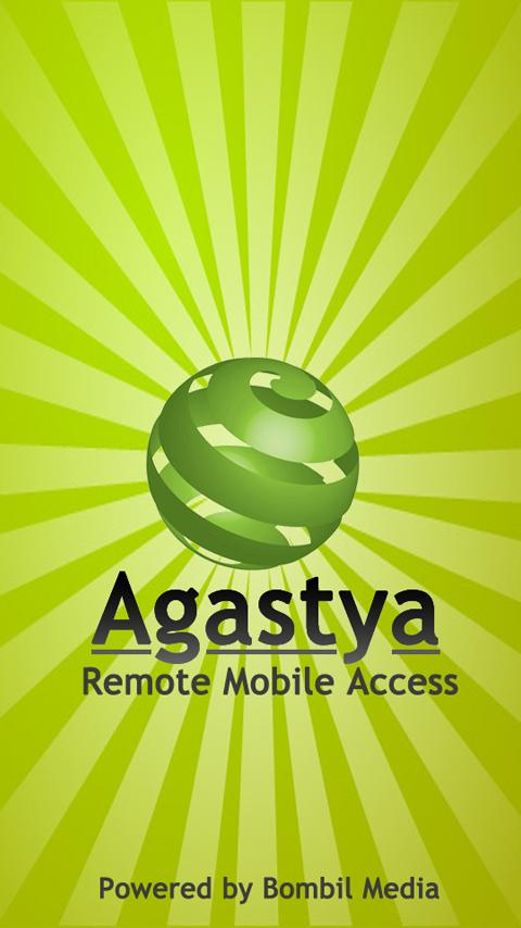 Agastya (Remote Mobile Access) - screenshot