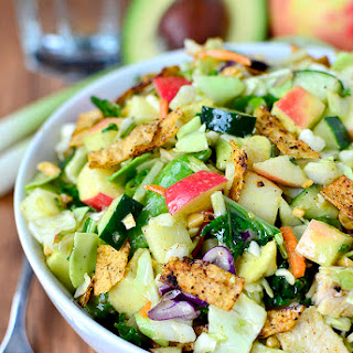 Crunch Lover's Chopped Chicken Salad with Chili-Lime Vinaigrette
