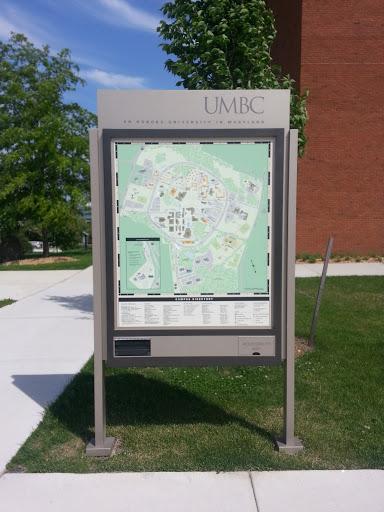 Intel Campus Map.Umbc Campus Map Portal In Umbc Campus Maryland United States