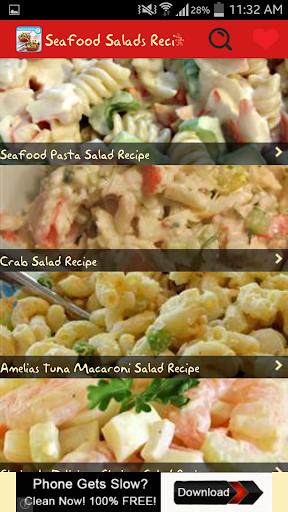 Seafood Salads Recipes
