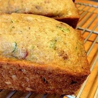 Grandma's Best Zucchini Bread