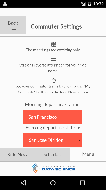 Caltrain Rider- screenshot