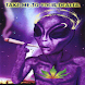 Alien Weed Live Wallpaper